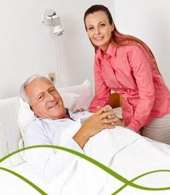 Как да се грижим за лежащоболен?